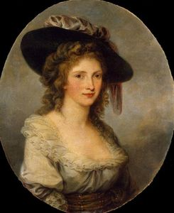 Angelica Kauffman (Maria Anna Angelika) - Self-portrait