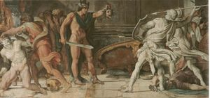 Annibale Carracci - Perseus and Phineas