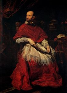 Anthony Van Dyck - Portrait of Cardinal Guido Bentivoglio