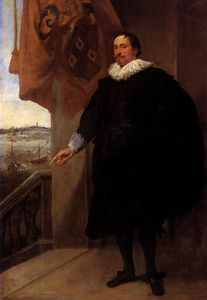 Anthony Van Dyck - Portrait of Nicolaes van der Borght