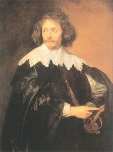 Anthony Van Dyck - Portrait of Sir Thomas Chaloner