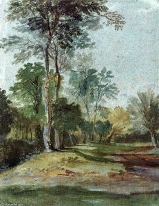 Anthony Van Dyck - Avenue in the country