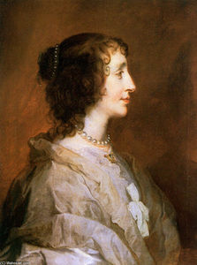 Anthony Van Dyck - Queen Henrietta Maria