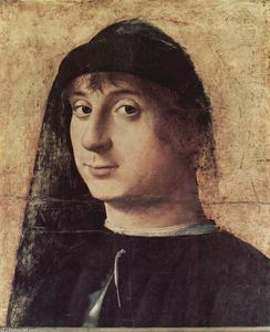 Antonello Di Giovanni Di Antonio (Antonello Da Messina) - Portrait of a Man (8)