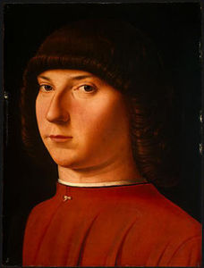 Antonello Di Giovanni Di Antonio (Antonello Da Messina) - Portrait of a Young Man
