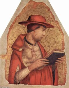 Antonello Di Giovanni Di Antonio (Antonello Da Messina) - St. Jerome