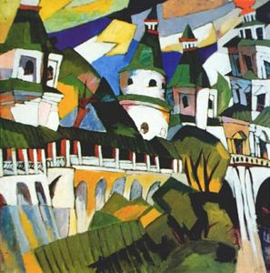 Aristarkh Lentulov - Churches