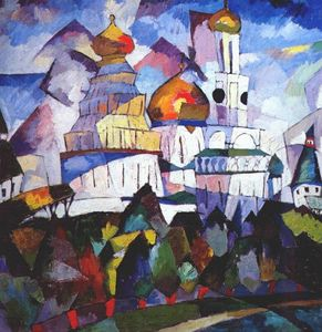 Aristarkh Vasilevich Lentulov - Churches, New Jerusalem