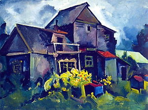 Aristarkh Vasilevich Lentulov - Country House. Village Zyuzino