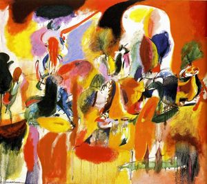 Arshile Gorky - Water of the Flowery Mill