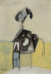 Arshile Gorky - The Raven (Composition No. 3)