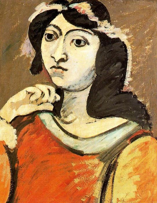 Portrait of Ahko, 1937 by Arshile Gorky (1904-1948, Turkey)