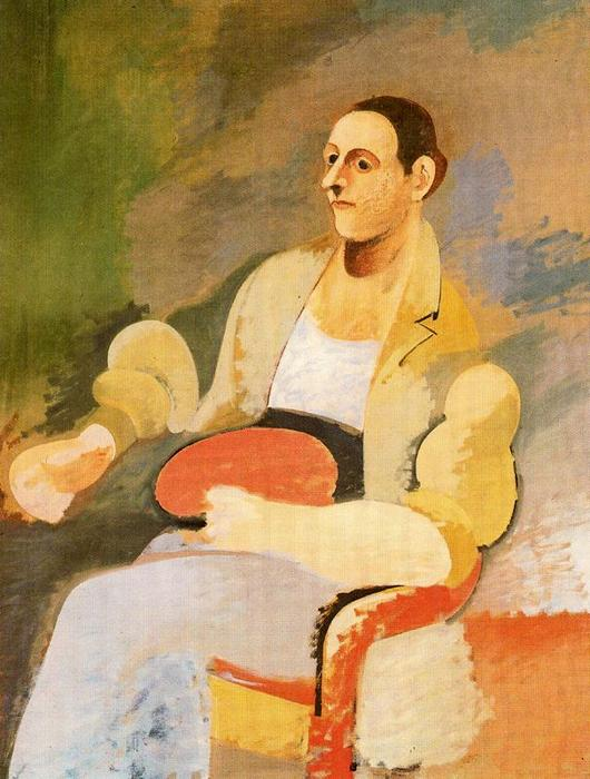 Portrait of Master Bill, 1929 by Arshile Gorky (1904-1948, Turkey)