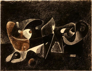 Arshile Gorky - Night-time, Enigma, and Nostalgia