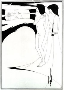 Aubrey Vincent Beardsley - The Woman in the Moon