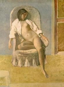 Balthus (Balthasar Klossowski) - Nude at Rest