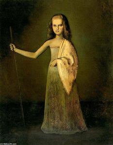 Balthus (Balthasar Klossowski) - Princess Maria Volkonsky at the age of twelve
