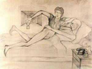 Balthus (Balthasar Klossowski) - The Baphomet at the desired time