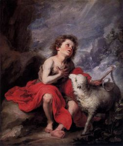 Bartolome Esteban Murillo - St. John the Baptist as a Child