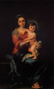 Bartolome Esteban Murillo - Virgin with Child