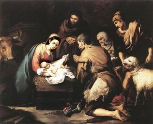 Bartolome Esteban Murillo - The Adoration of the Shepherds