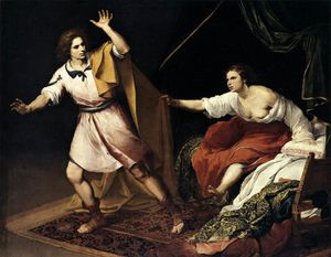 Bartolome Esteban Murillo - Joseph and Potiphar's Wife