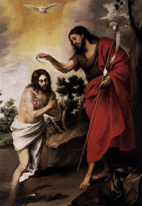 Bartolome Esteban Murillo - Baptism of Christ