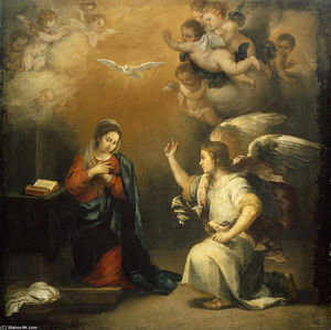 Bartolome Esteban Murillo - The Annunciation