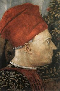 Benozzo Gozzoli - Procession of the Magus Balthazar (detail) (8)
