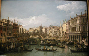 Bernardo Bellotto - Grand canal, view from north