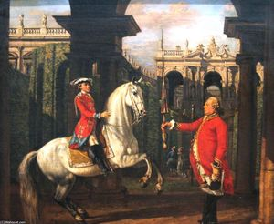 Bernardo Bellotto - Spanish riding school