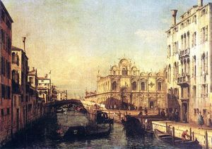 Bernardo Bellotto - The Scuola of San Marco