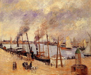 Camille Pissarro - The Port of Le Havre 2