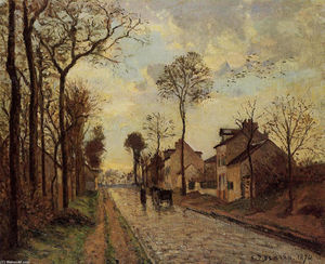 Camille Pissarro - The Louveciennes Road