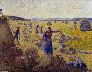 Camille Pissarro - The Harvest of Hay in Eragny