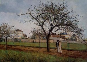 Camille Pissarro - Pere Gallien-s House at Pontoise