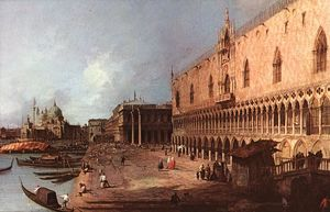 Giovanni Antonio Canal (Canaletto) - Doge's Palace