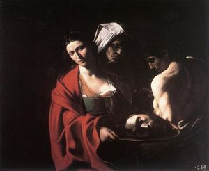 Caravaggio (Michelangelo Merisi) - Salome with the Head of John the Baptist
