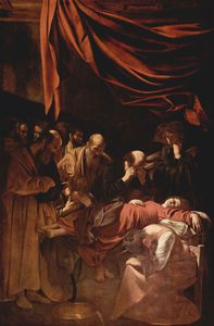 Caravaggio (Michelangelo Merisi) - The Death of the Virgin