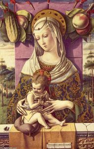 Carlo Crivelli - Mary with child