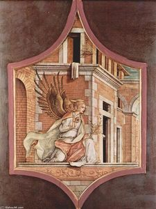 Carlo Crivelli - Annunciation angel
