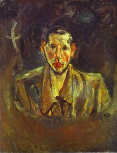 Chaim Soutine - Self Portrait with Beard