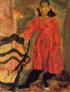 Chaim Soutine - Girl in Red