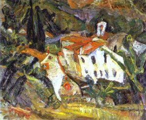 Chaim Soutine - Ceret Lanscape