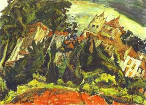 Chaim Soutine - Houses at Ceret
