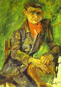 Chaim Soutine - Portrait of Moise Kisling