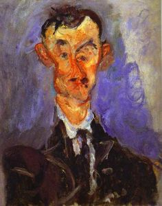 Chaim Soutine - Portrait of Emile Lejeune