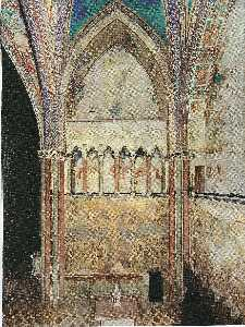 Cimabue - View of the frescoes in the left transept