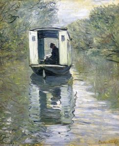 Claude Monet - The Boat Studio