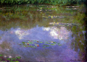 Claude Monet - Water Lilies, The Clouds